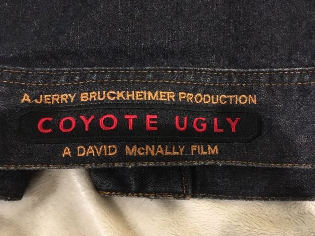COYOTE UGLY - CAST & CREW DIESEL JACKET Size XL #Movie #Collectibles #CoyoteUgly