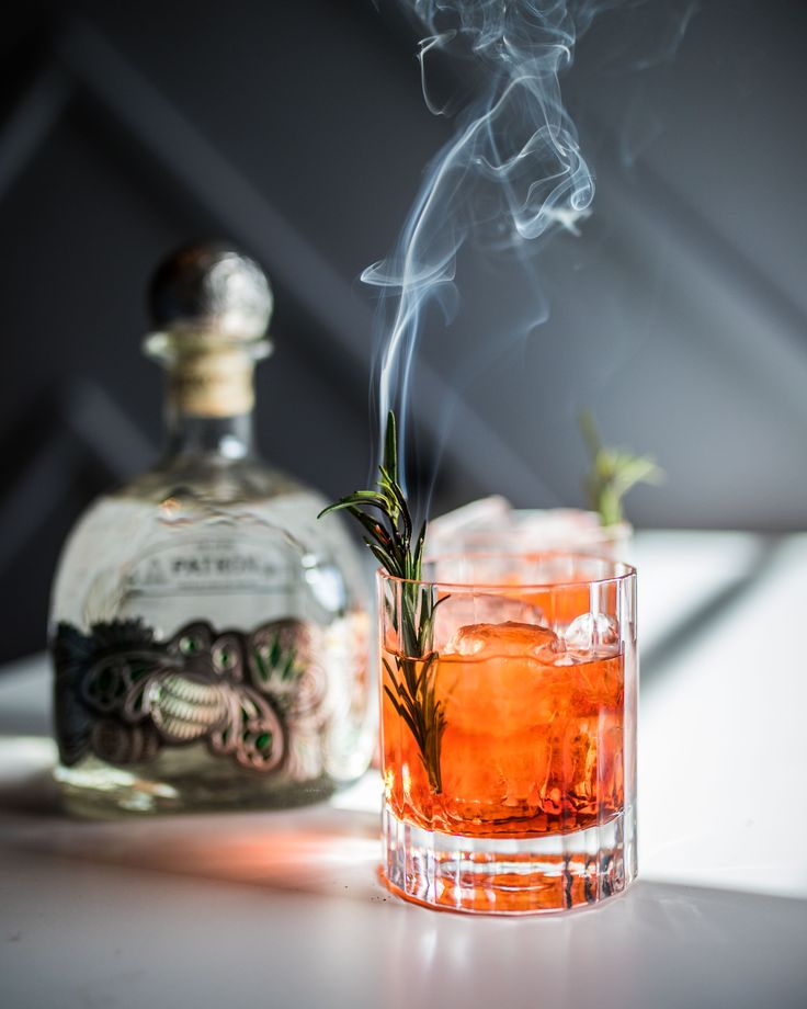 A riff on a classic negroni with Patron Silver Tequila and some added winter flavors.