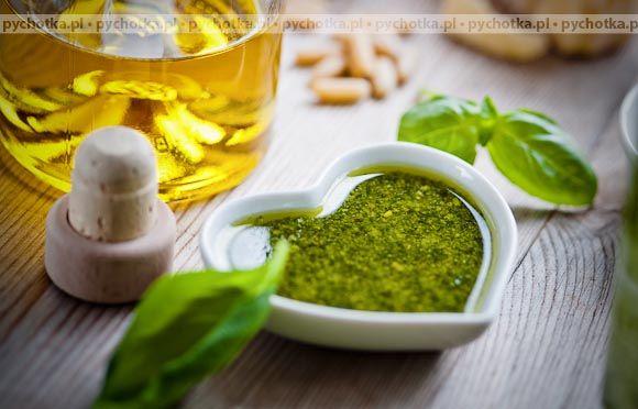 Zielony sos do sałatek
