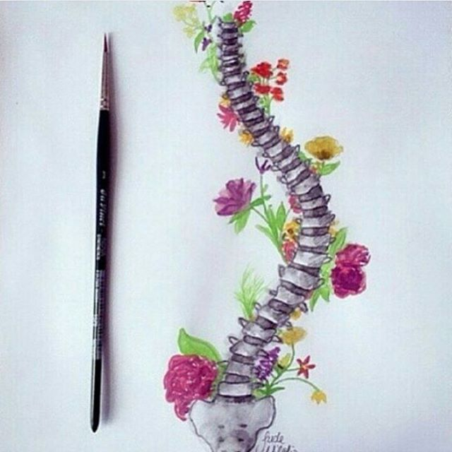 Wow #escoliosis #scoliosis #drawing #dibujo