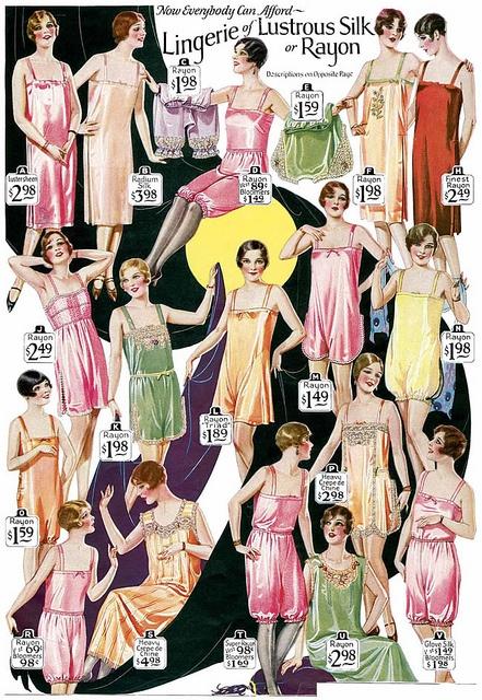 Vintage Lingerie 1920's