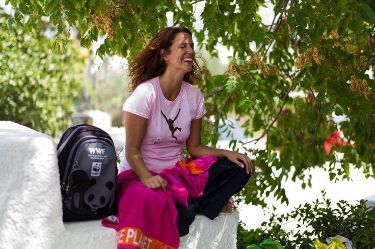 #InspireMe Δέσποινα Τζιάλλα. Είναι αισιόδοξη, πάντα χαμογελαστή και αντιμετωπίζει τα προβλήματα του πλανήτη λες και αφορούν το ίδιο της το σπίτι. (http://www.gynaikaeveryday.gr/?page=calendar&day=2016-10-15)