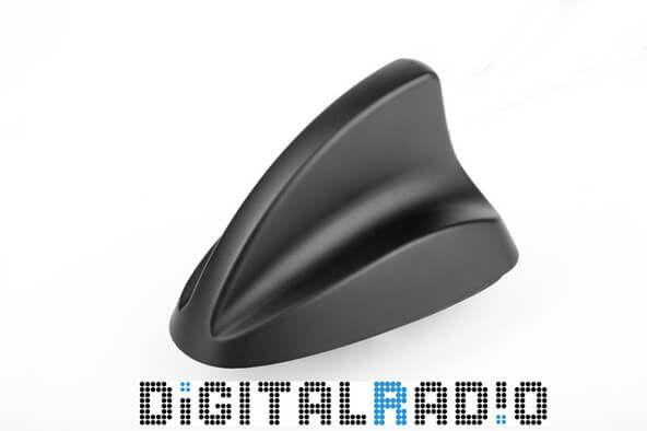 Shark hai-finne DAB+ / FM antenne