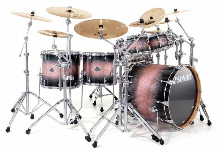 SONOR Select force stage 1 - brown galaxy sparkle - Batteries acoustiques - Batteries Standard | Woodbrass.com