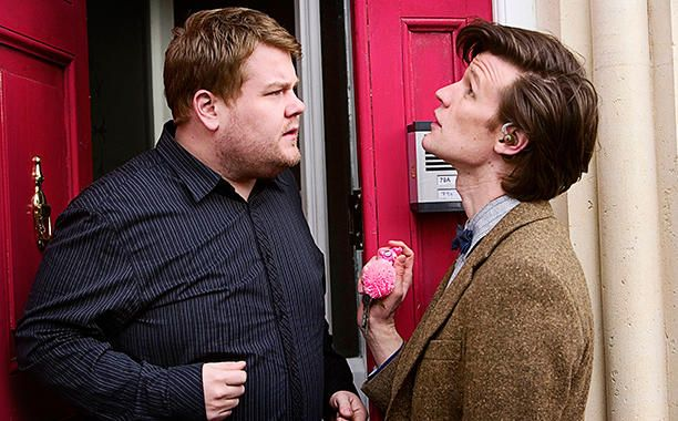 James Corden - Doctor Who Guest Stars - 19 of the Best Cameos - EW.com