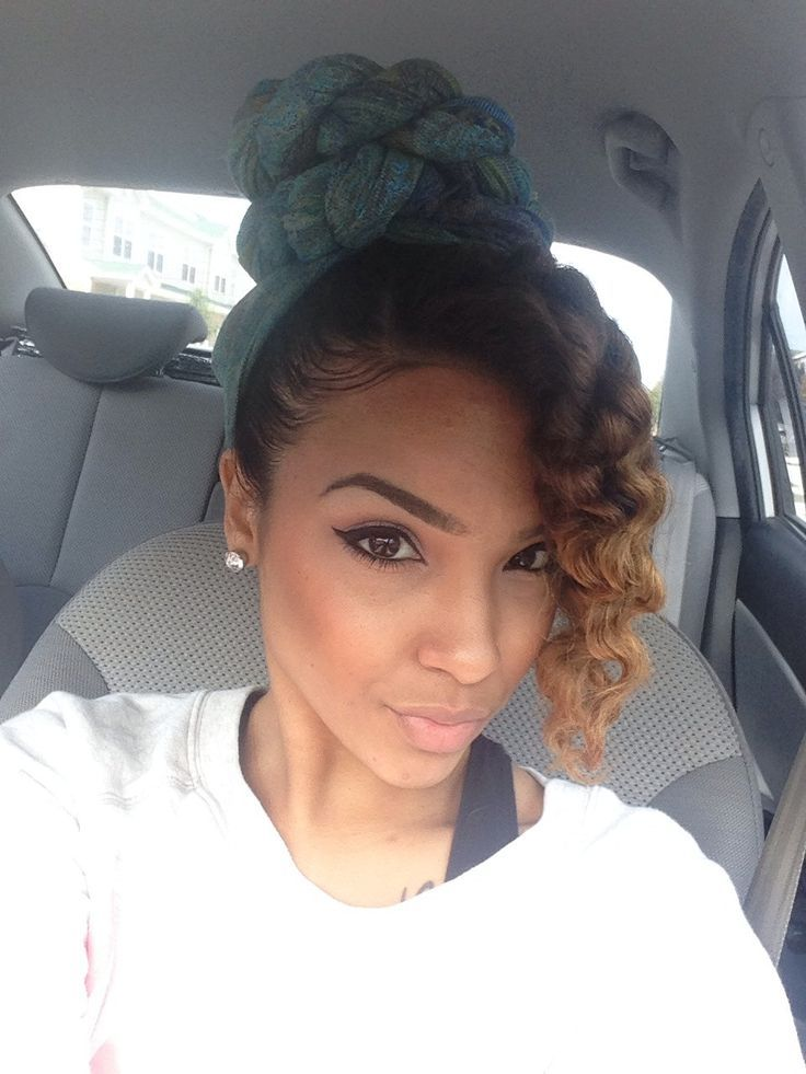 natural hair styles with scarves wwwpixsharkcom