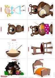 goudlokje en de drie beren digitaal prentenboek - Google zoeken