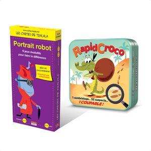 Portrait Robot & RapidCroco : 2 jeux de déduction