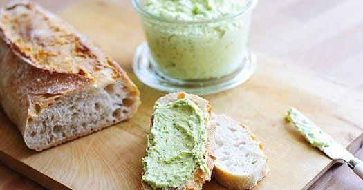 Limetten-Parmesan-Butter