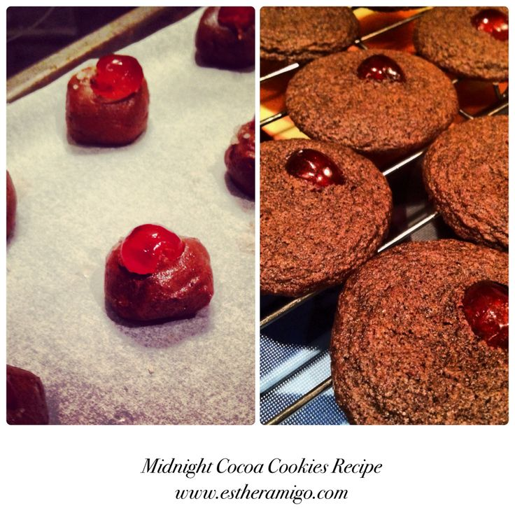 Midnight Cookies www.estheramigo.com