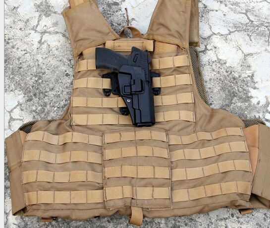 Paragraph gun holster M92 Blackhawk tactical vest chest special edition dedicated to hang