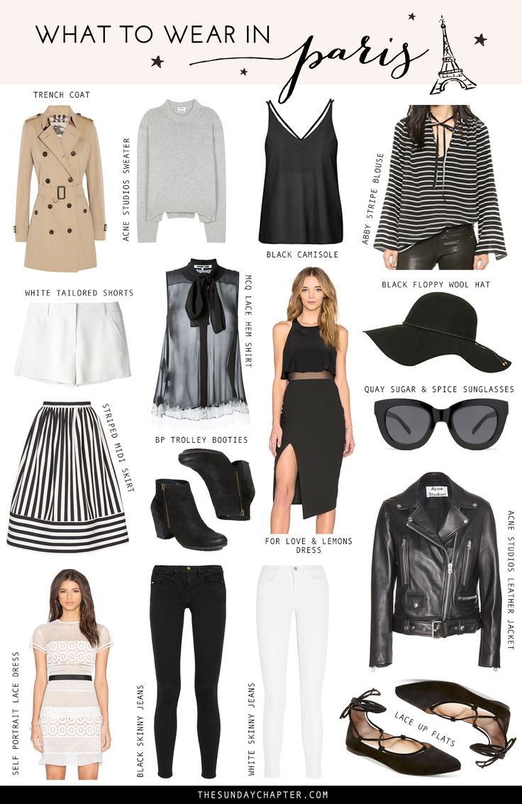 What to Wear in #Paris | Sunday Chapter