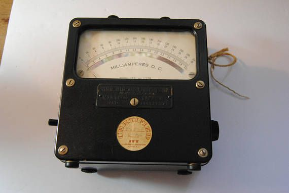 Vintage Meter/From the Lab of Philo Farnsworth/Western