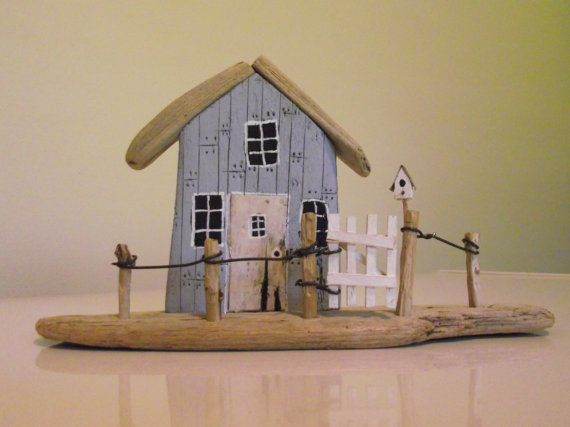 Handmade Driftwood House 04 by 50thParallel on Etsy