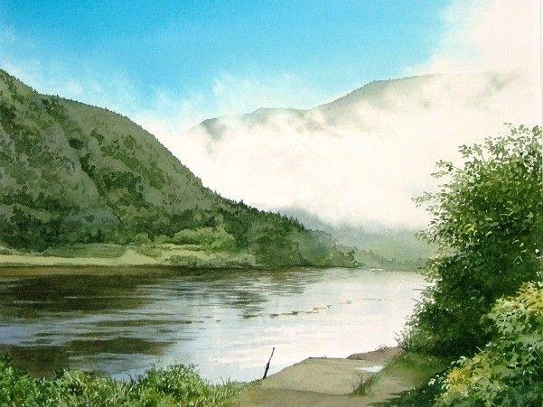 夏の水彩画帖 Summer - あべとしゆき水彩画ギャラリー Abe Toshiyuki Watercolor Web Gallery