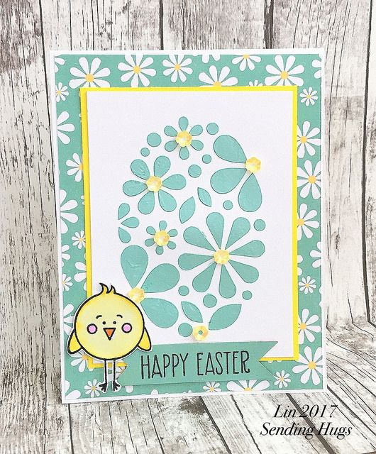 I received my Simon March Card Kit  over the weekend, and here's a card using it:        supplies: white and Bright Yellow  cardstock, Echo ...