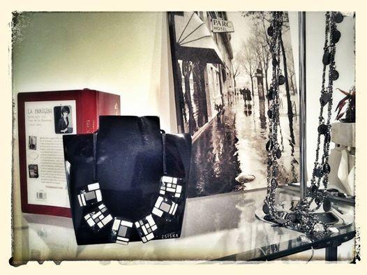 """Buona giornata collana """"mondrian"""" collezione ZSISKA, bellissima!!"""