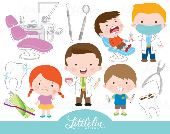 Dentist clipart - tooth clipart - 16100 by LittleLiaGraphic on Etsy https://www.etsy.com/uk/listing/503141491/dentist-clipart-tooth-clipart-16100