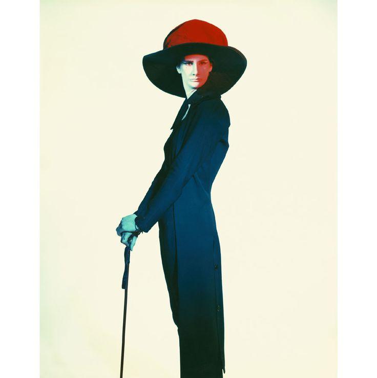 Sasha, Paris 1985/photographer Paola Roversi for Yohji Yamamoto