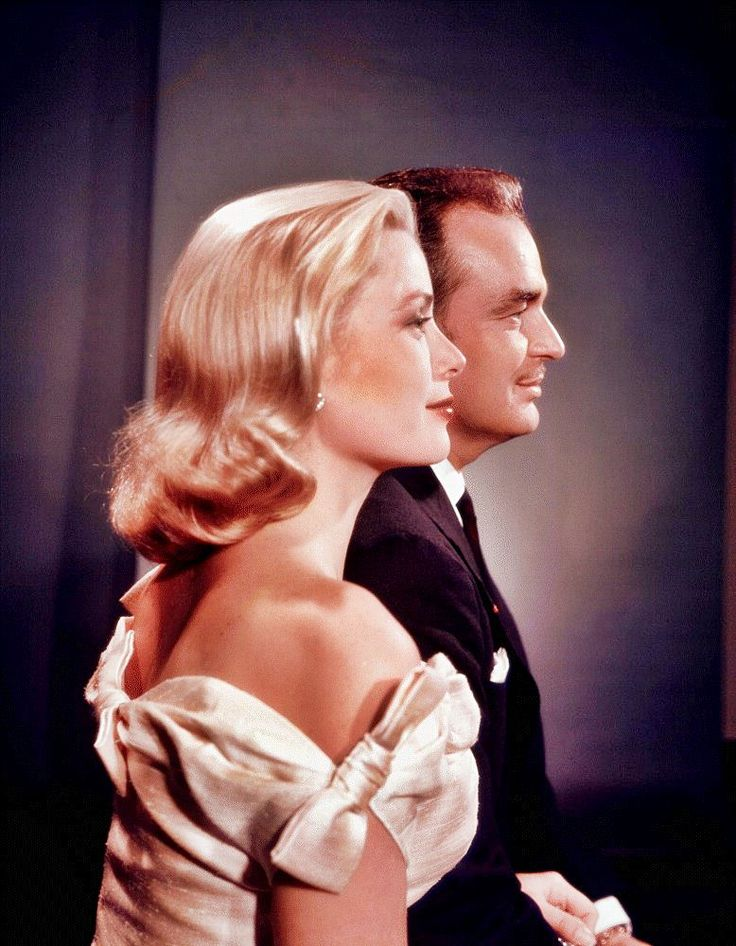 Princess Grace and Prince Rainier of Monaco