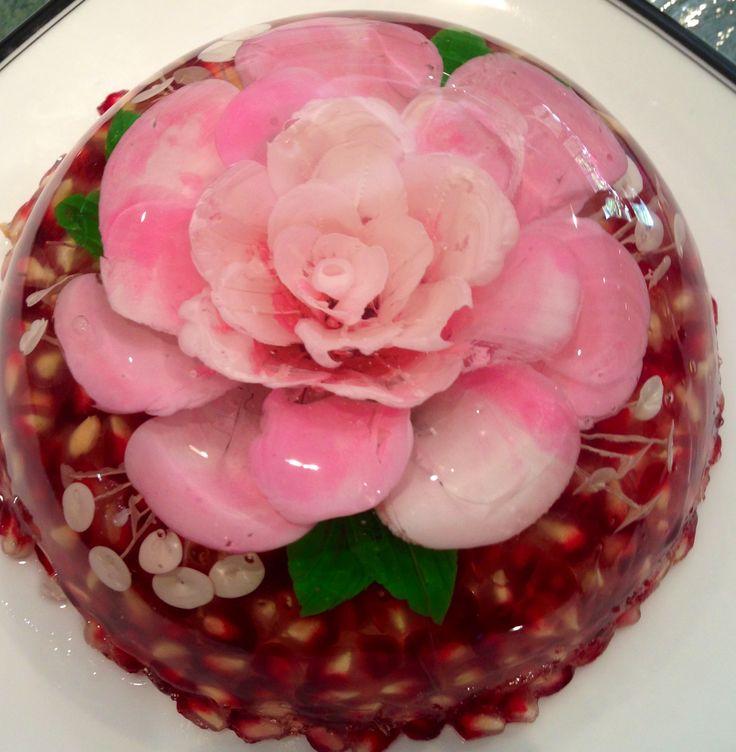 Gelatin Cake Art : 3D Edible Gelatin Art, classes and tools Jelly art ...