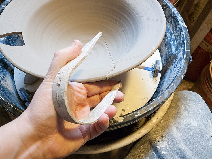 Using a wire to cut the shapes