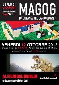 venerdì 12 ottobre 2012 ore 21.00 entrata libera via principe eugenio 28 Milano