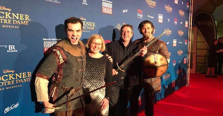 Am 12.11.2017 war wieder Premierenzeit im Deutschen Theater in München. Disneys Glöckner von Notre Dame, schlug seine Zelte oder besser gesagt seinen Glockenturm in München auf.
