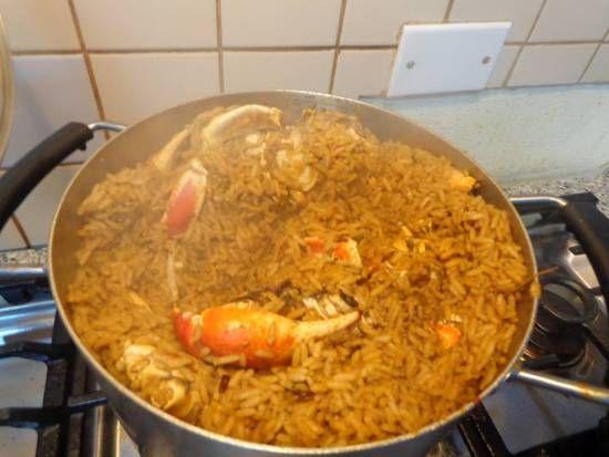 Recipe for Crab & Rice