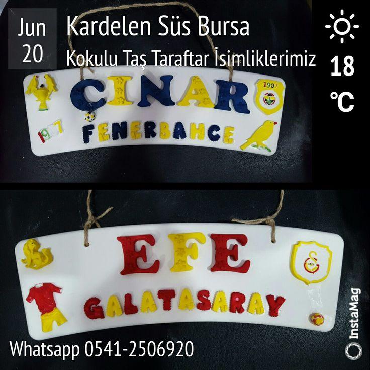 Taraftar ( Kapı & Duvar Süsü ) İsimliklerimiz BURSA Osmangazi Bahar Mah. 1.Çınar Cad. No:55