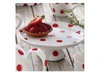 Présentoir à gâteau Pois Rouge