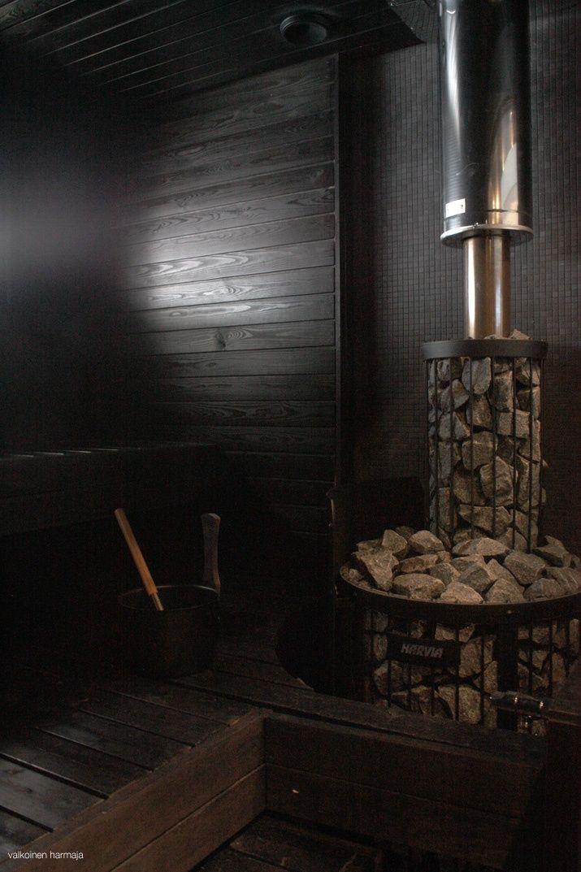 dark sauna
