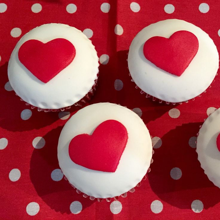 Cupcakes Valentin's