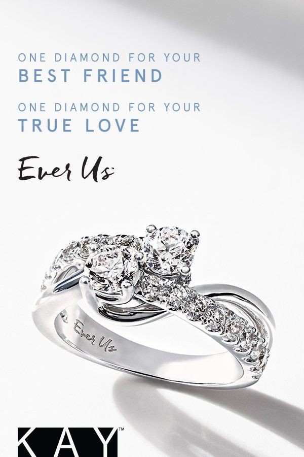 328f3762a One diamond for your best friend. One diamond for your true love. Ever Us.