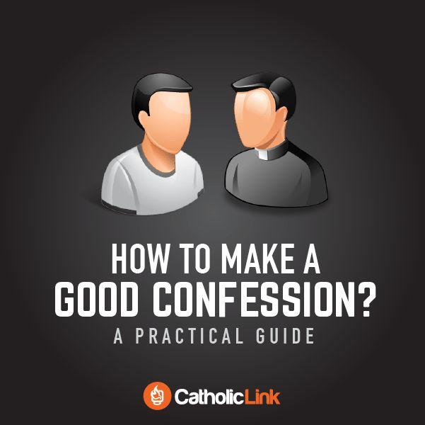 how to make a good confession catholic church