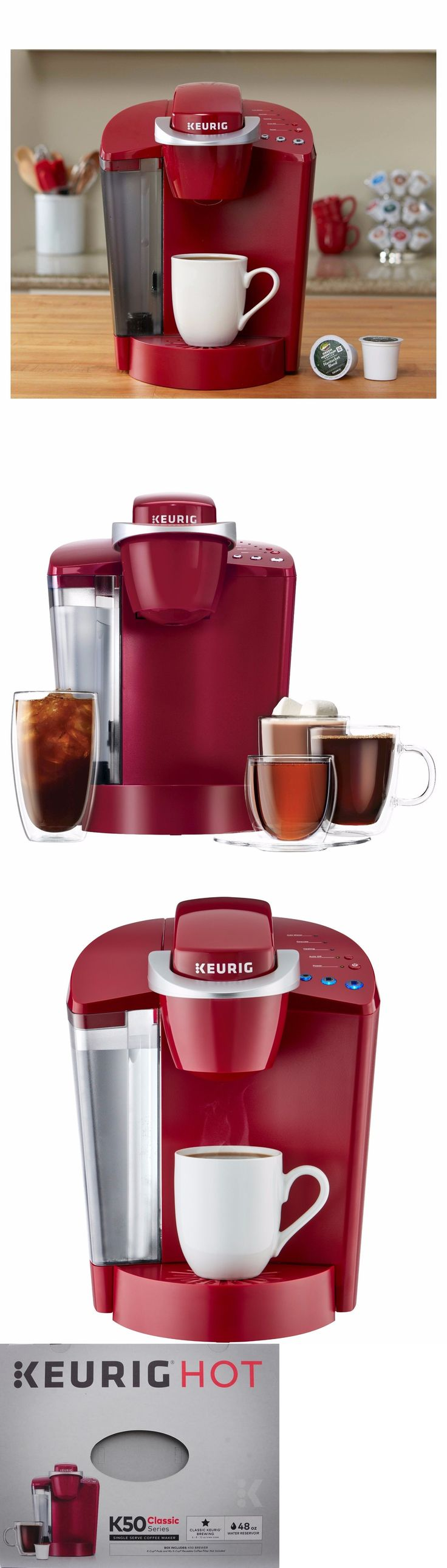 Single Serve Brewers 156775: New Keurig K55 Single Serve Coffee Maker Brand New Coffee Brewer-Single Cup Red -> BUY IT NOW ONLY: $85.65 on eBay!