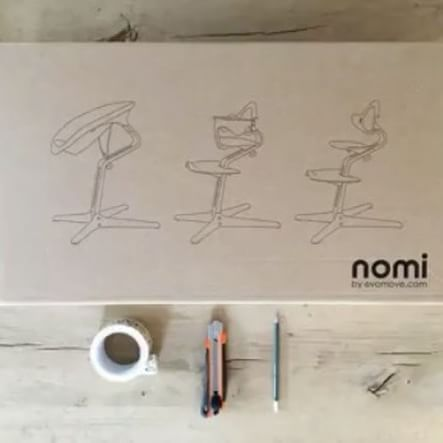 You guys love our Nomi Highchair for its comfort, its safety, the beautiful design and the fact that you can use the Nomi Highchair for newborns as well as for teenagers. 🙌🏻That's pretty logical, who wouldn't love that? 💕 But do you know what makes our Nomi éxtra lovable? The environment-friendly Nomi-boxes, and their secret features. 💁🏼📦✂️📏✏️ #DIY #dadhack #momhack