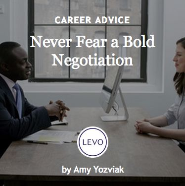 #Ask4More | Negotiation | Never Fear a Bold Negotiation