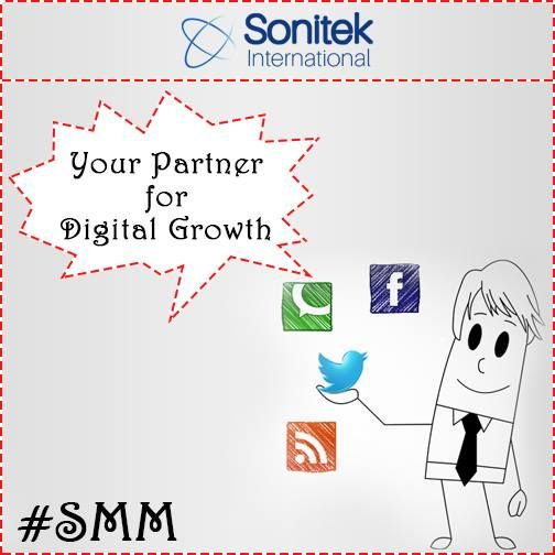 Grow online with our expert assistance! Know more here: https://www.sonitek.ca  #sonitekinternational #branding #success #SMM