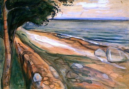 Beach  Edvard Munch - 1898