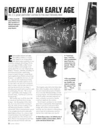 The story of Robert Sandifer- to use alongside the book Yummy: The Last Days of a Southside Shorty to compare different texts.