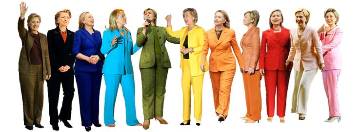 Lady in the Street But So Chic at the Desk: How to Modernize Hillary's Classic Pantsuit