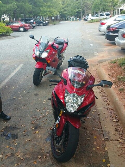 My Girl Bike in the from Redfox in the back