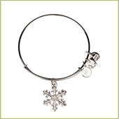 Dana Farber - Holiday gifts to conquer cancer. Alex and Ani Snowflake