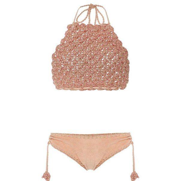 527be545157a2 Two Piece Beaded String Bikini