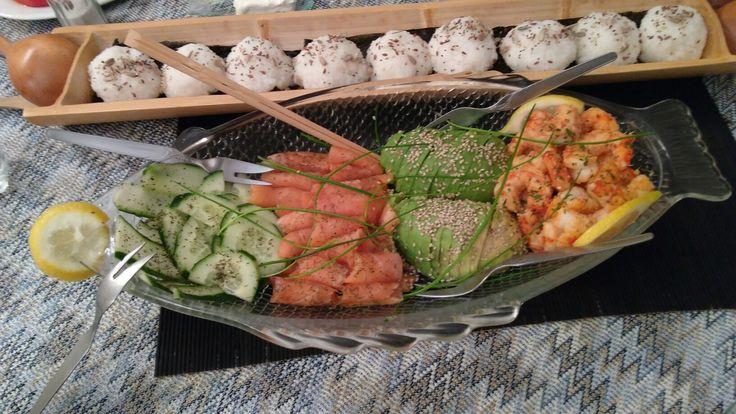 Sushi salad 🍱