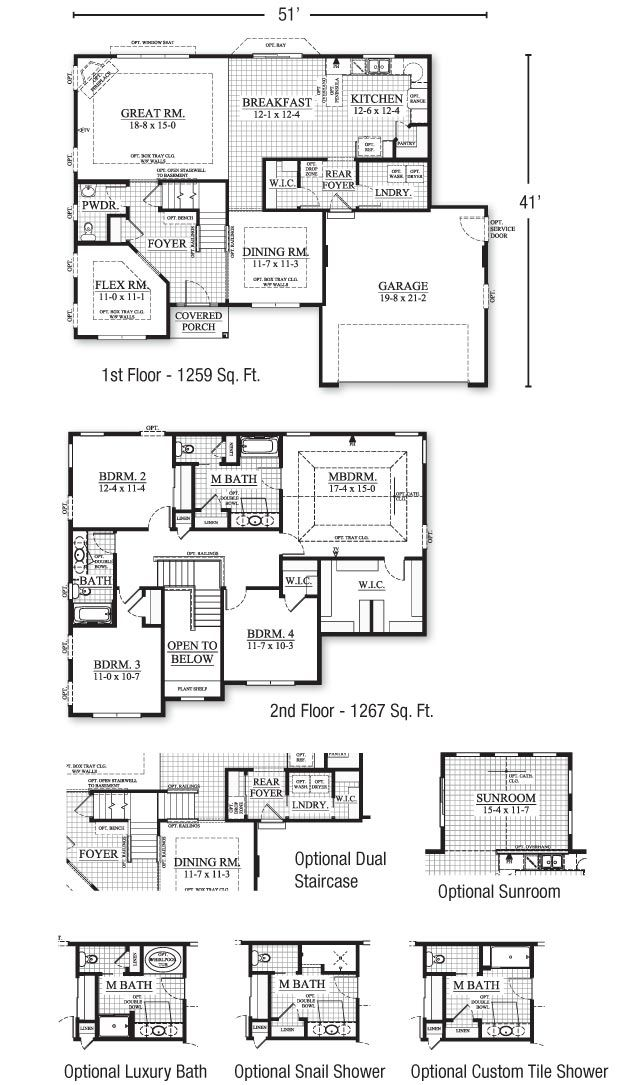 10 best Plans images on Pinterest Floor plans, Bathroom and Home ideas - plan maison sans couloir