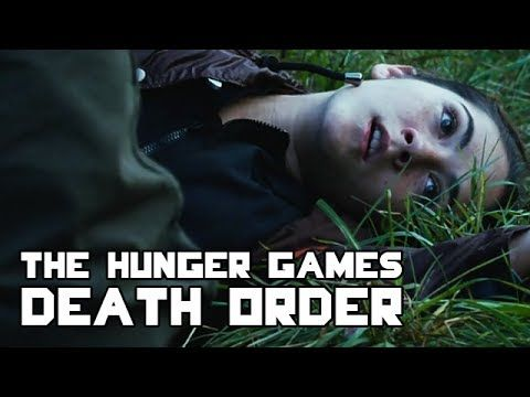 The Hunger Games - Death Order - YouTube