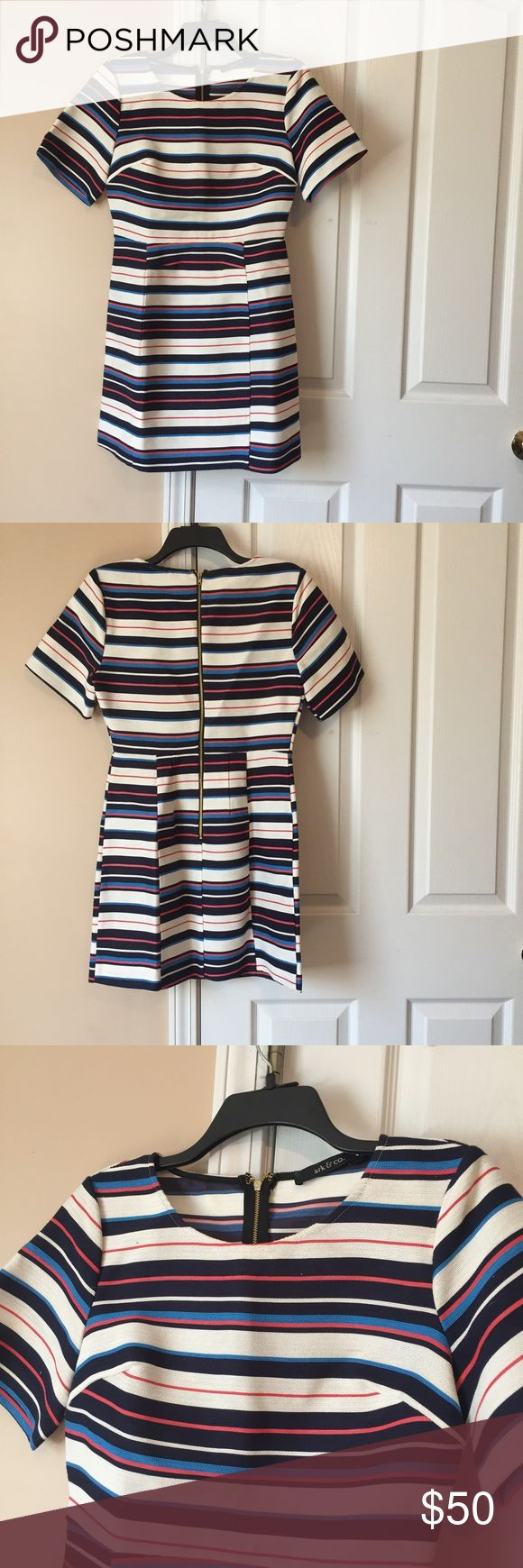 Free People Dress NOT FREE PEOPLE boutique dress, worn only once, very very pretty fit and flare style! Super cute for church or a business style outfit Free People Dresses Mini