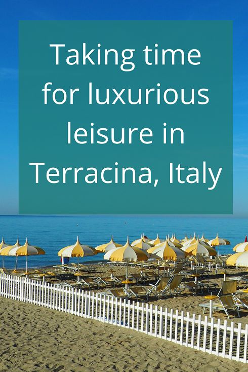 Adoration 4 Adventure's recommendations for taking time out for luxurious leisure in Terracina, Lazio, Italy at Hotel Poseidon.